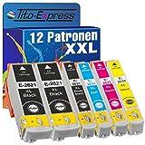 Tito-Express PlatinumSerie 12 Patronen XXL kompatibel mit Epson T2621 T2631 T2632 T2633 T2634 26XL | Für Epson Expression Premium XP 510 520 600 605 610 615 620 625 700 710 720 800 810 820