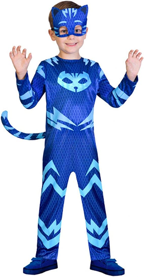 Amscan PJMasks 9902952 - Disfraz de Gatuno, color azul