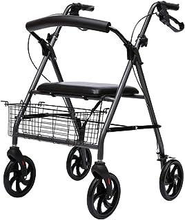 Mobility Aids & Supplies Elderly Walker Walker Trolley Walking Walking Chair With Seat Rehabilitation Aid Rehabilitation W...