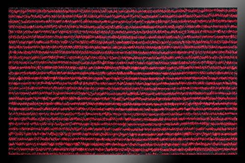ID Mate Ligna, Fibra sintética, Rojo, 60x 80x 0,7cm