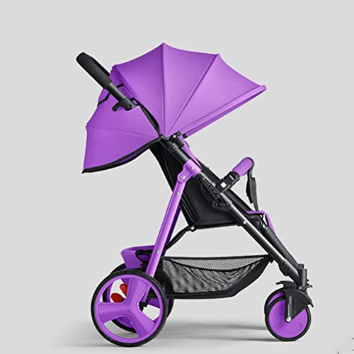 tienda YEC Cochecito de bebé sentado sentado portátil paraguas plegable plegable plegable portátil plegable cochecito de bebé choque de choque (Color morado)  minoristas en línea
