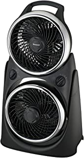 Honeywell HT-8800E Ventilador turbo doble, 50 W