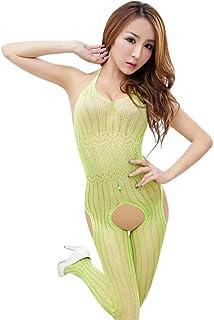 12663b9264a Kmety Women Sexy Lingerie Sleepwear Nightwear Fishnet Bodysuit Bodystocking