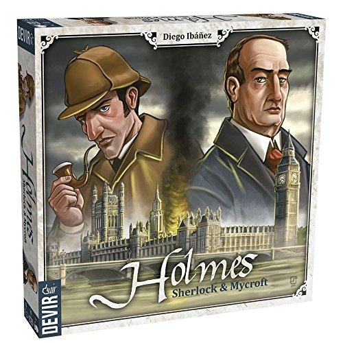 Devir- Holmes: Sherlock and Mycroft Juego de Mesa, Multicolor (BGHOLMES)