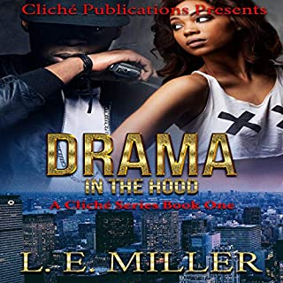 Drama in the Hood audiobook cover art