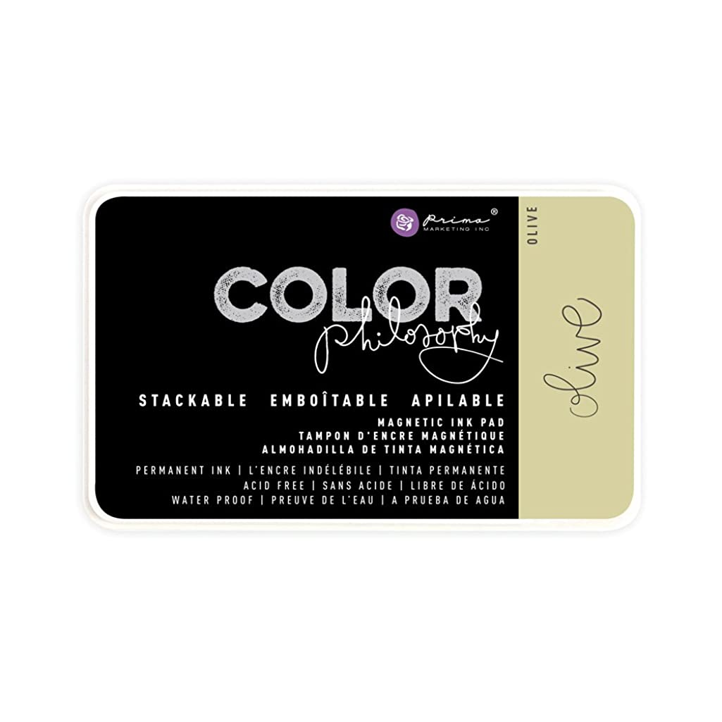 Prima Marketing Color Philosophy Permanent Ink Olive