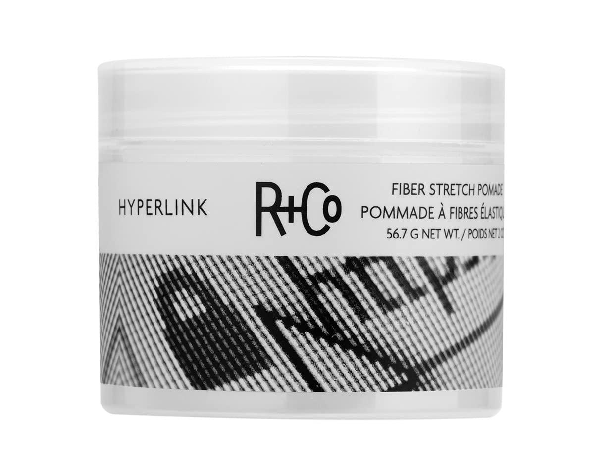 R+Co HYPERLINK Fiber Stretch Pomade, 2 oz.