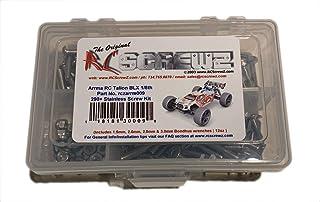 290 Pieces arrm009 Screws Parts Hardware RCScrewZ Arrma RC Talion BLX 1//8th V3 Stainless Steel Screw Kit