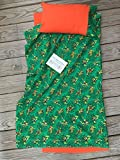 Mimi Made it Boutique 1' -Kinder-mat Cover - Ninja Turtle- with Attached Blanket and Pillowcase