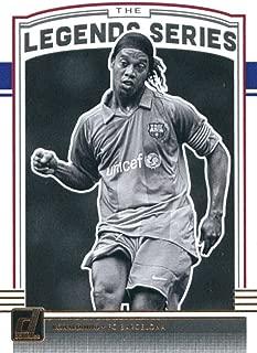 2018-19 Donruss Legends Series Soccer #2 Ronaldinho FC Barcelona Official Panini Futbol 2018/2019 Trading Card