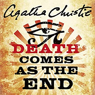 Death Comes As the End                   By:                                                                                                                                 Agatha Christie                               Narrated by:                                                                                                                                 Emilia Fox                      Length: 7 hrs and 11 mins     75 ratings     Overall 4.2