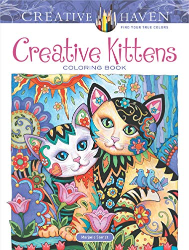 Adult Coloring Creative Kittens Coloring Book (Creative Haven Coloring Books)