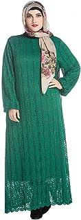 cutemom Muslim Women Dress Long Sleeve fashion retro Large size solid color simple and loose Kaftan Dresses Traditional Women Abaya Dubai Islamic Robe Clothes