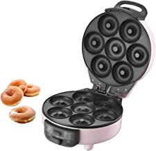 N&W Multifunctional Mini Donut Maker Kitchen Small Baking Tool Double-Sided Heating Electric Baking Pan Cake Automatic Hom...