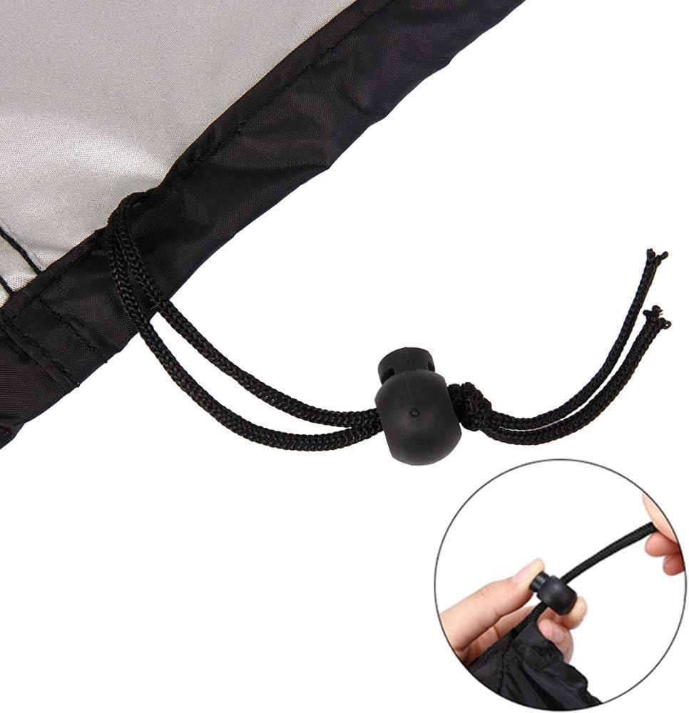 Housse de protection camouflage net en forme de L pour meubles de jardin Housse de protection pour canap/é dangle noir 215 x 215 x 87 cm