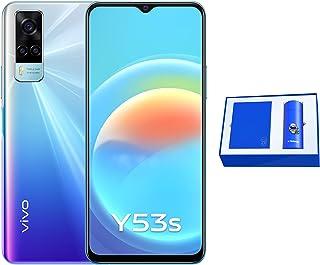 هاتف Y53s من فيفو بشريحتي اتصال 128 جيجا وذاكرة رام 8 جيجا، تصميم قوس قزح رائع مع صندوق هدايا