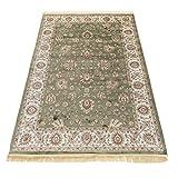 Alfombra oriental de diseño persa RUBINE 492-VERDE