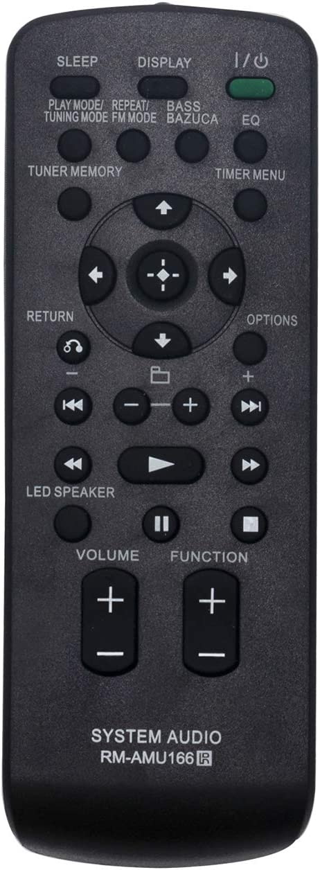 RM-AMU166 All stores are San Antonio Mall sold RMAMU166 Replace Remote Control Sony fit Home Audi for