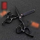 Hairdresser Scissors Set, 5.5inch 6.0 Inch Red Diamond Blue Black Hairdressing Set Styling