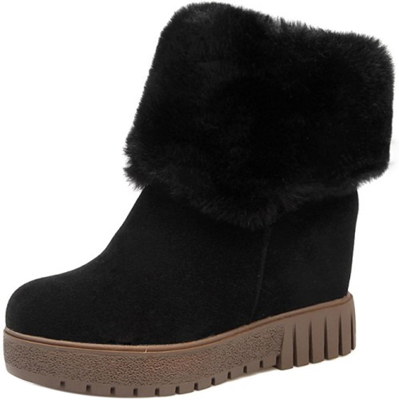 RizaBina Women Boots Pull On Hidden Heel