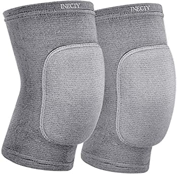 INECIY Best Soft Knee Pads for Dancers-Knee Pads Knee Guards for Ath letic Use Volleyball Knee Pads Dance Knee Pads Yoga Knee Pads Football Pad Tennis Skating Workout Climbing  large-28cm