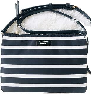 Dawn Sailing Stripe Triple Gusset Crossbody Bag
