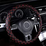 Rayauto 15inch Odorless Quilted Stitching Pattern Leather Car...