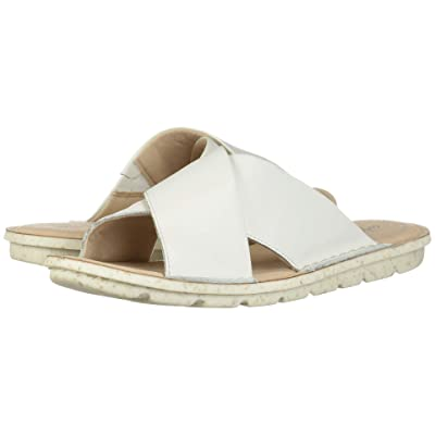 Clarks Blake Sydney (White Leather) Women