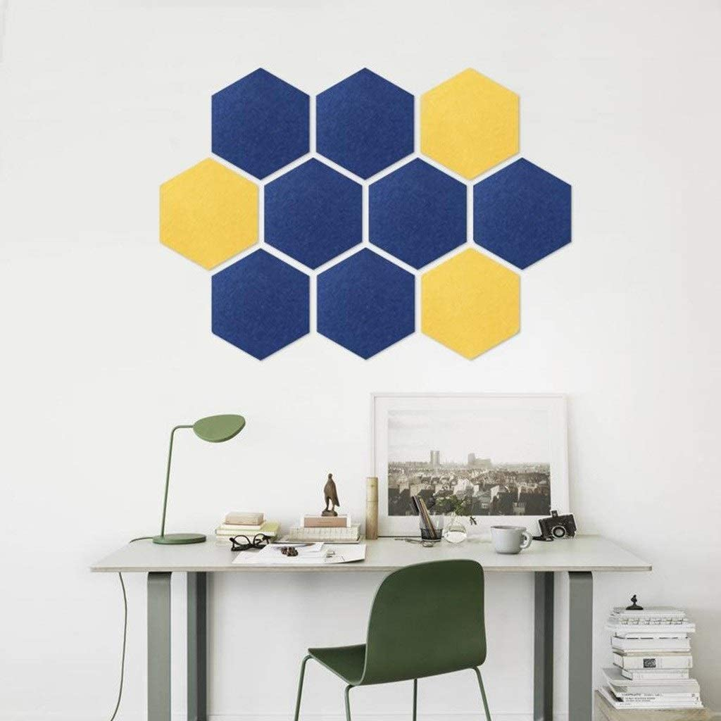 Z-XIYIN YyuX Popularity 10PCS High quality new Felt Board Tiles No to Inst Deformation Easy