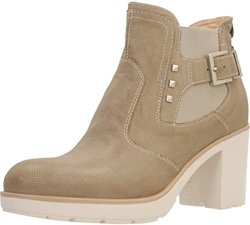 Stiefel para damen, Farbe Hueso, Marca schwarz GIARDINI, Modelo Stiefel para damen schwarz GIARDINI P805190D Hueso
