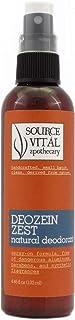Deozein Zest Natural Deodorant - Aluminium-free and Synthetics-free Deodorant Spray