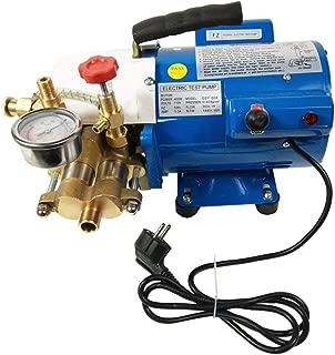 TECHTONGDA Electric Hydrostatic Test Pump Water Pipe Leakage Pressure Tester Measurement Tool