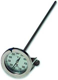 Comark Instruments | CD550 | Stainless Steel Body Candy/Deep Fry Thermometer with Clip