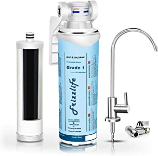 Frizzlife Under Sink Water Filter-Quick Change Under Counter Drinking Water Filtration..