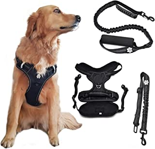 extra large dog harness leather