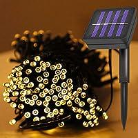 Gavenia Decorative Solar Lights Outdoor ,72FT 200 LED 8 Modes Deals