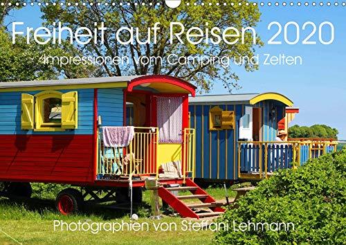 Freiheit auf Reisen 2020. Impressionen vom Camping und Zelten (Wandkalender 2020 DIN A3 quer): 12 stimmungsvolle Fotos, die die abwechslungsreichen ... (Monatskalender, 14 Seiten ) (CALVENDO Orte)