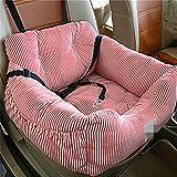 LZADI Haustier Hund Auto Sitzkissen und Sicherheitsgurt Katze Hund Tasche