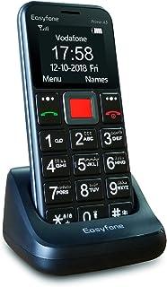 الهاتف المحمول ايزي فون برايم- ايه 5 لكبار السن، سهل الاستخدام مع قاعدة شحن