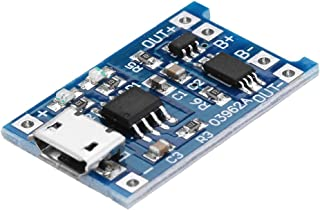 ILS – 5 Unidades TP4056 Micro USB 5 V 1 A batería de Litio protección Pagar Tarjeta TE585 Lipo Cargador módulo