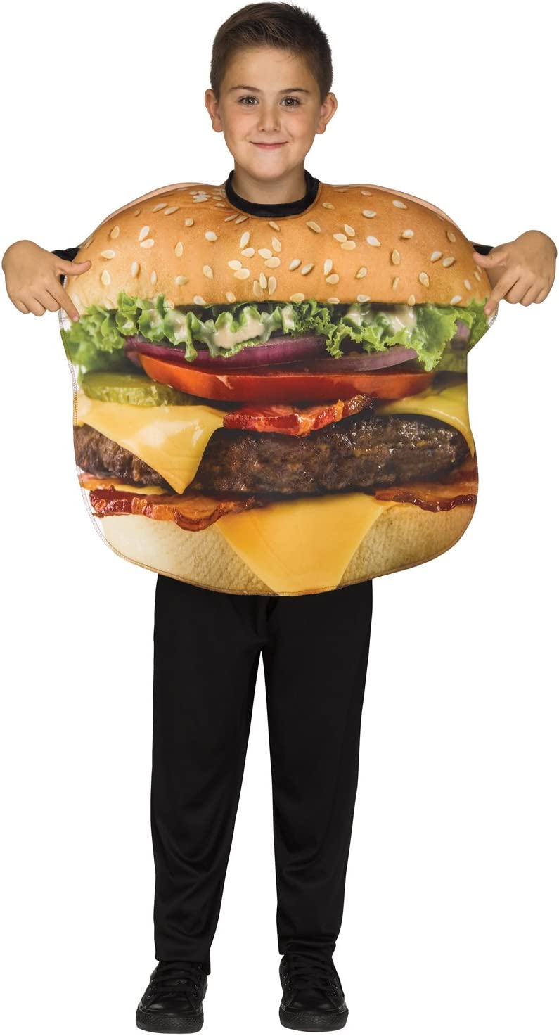 Ranking TOP6 New arrival Fun World Cheeseburger Costume One Multicolor Size