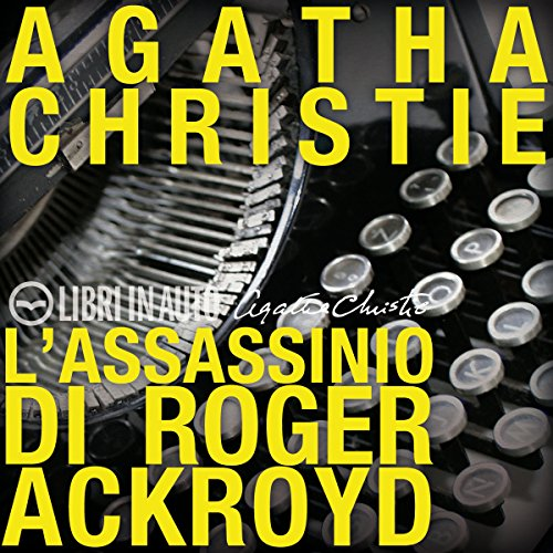 L'Assassinio di Roger Ackroyd audiobook cover art