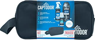 CaptodorToiletry Bag Kit, Black, Single Unit