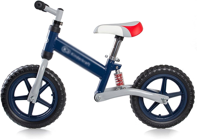 envío rápido en todo el mundo Bicicleta Niño Equilibrio Bebé Infant Walker Balance Bike 2-6 2-6 2-6 Asiento Ajustable Manillar Spring Shock Absorber (Color   azul, Talla   5587cm)  primera reputación de los clientes primero