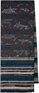 PS by Paul Smith Men's Scarf Mt Jacquard