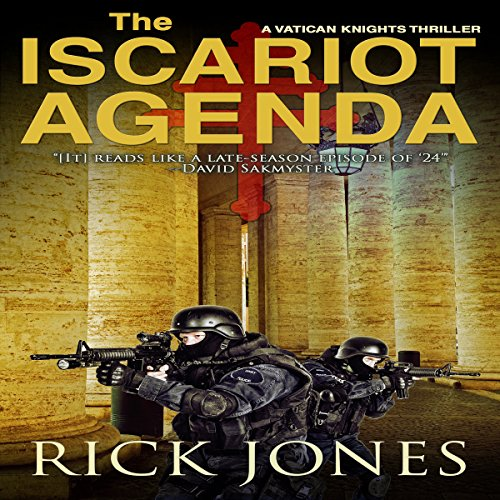 The Iscariot Agenda audiobook cover art