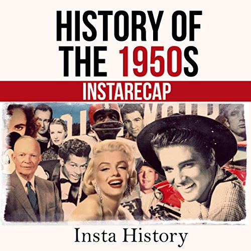History of the 1950s audiobook cover art