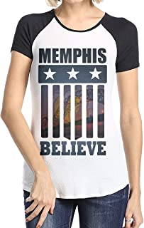 MiiyarHome Women's Short Sleeve Baseball T-Shirts Mike Conley Jr, Girls RaglanSleeves Jersey Tee Shirt Black S
