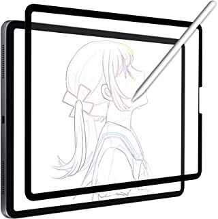 YMYWorld ペーパーライク 保護フィルム 着脱式 iPad Air 4 (2020) / iPad Pro 11 (2020 / 2018) 用 フィルム 反射低減