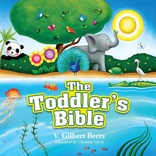 The Toddler's Bible audiobook cover art